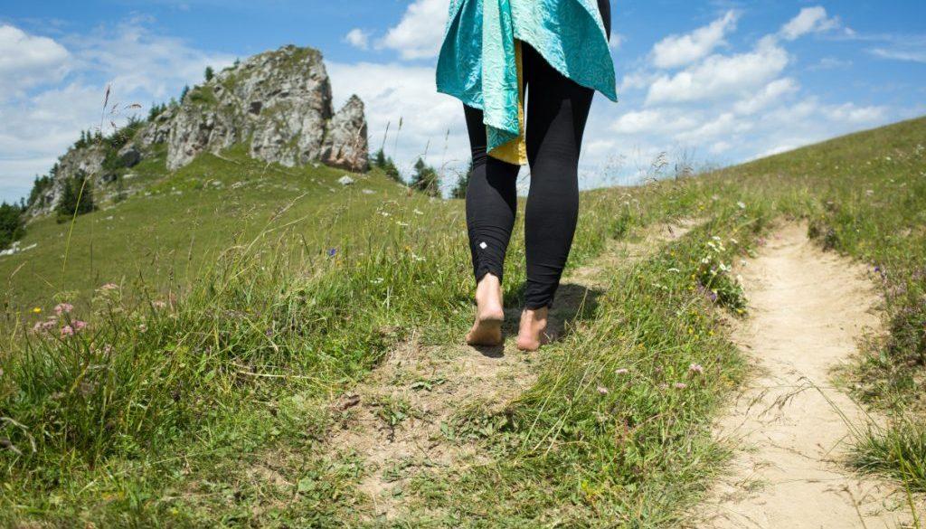 barefoot / bosé nohy v prírode