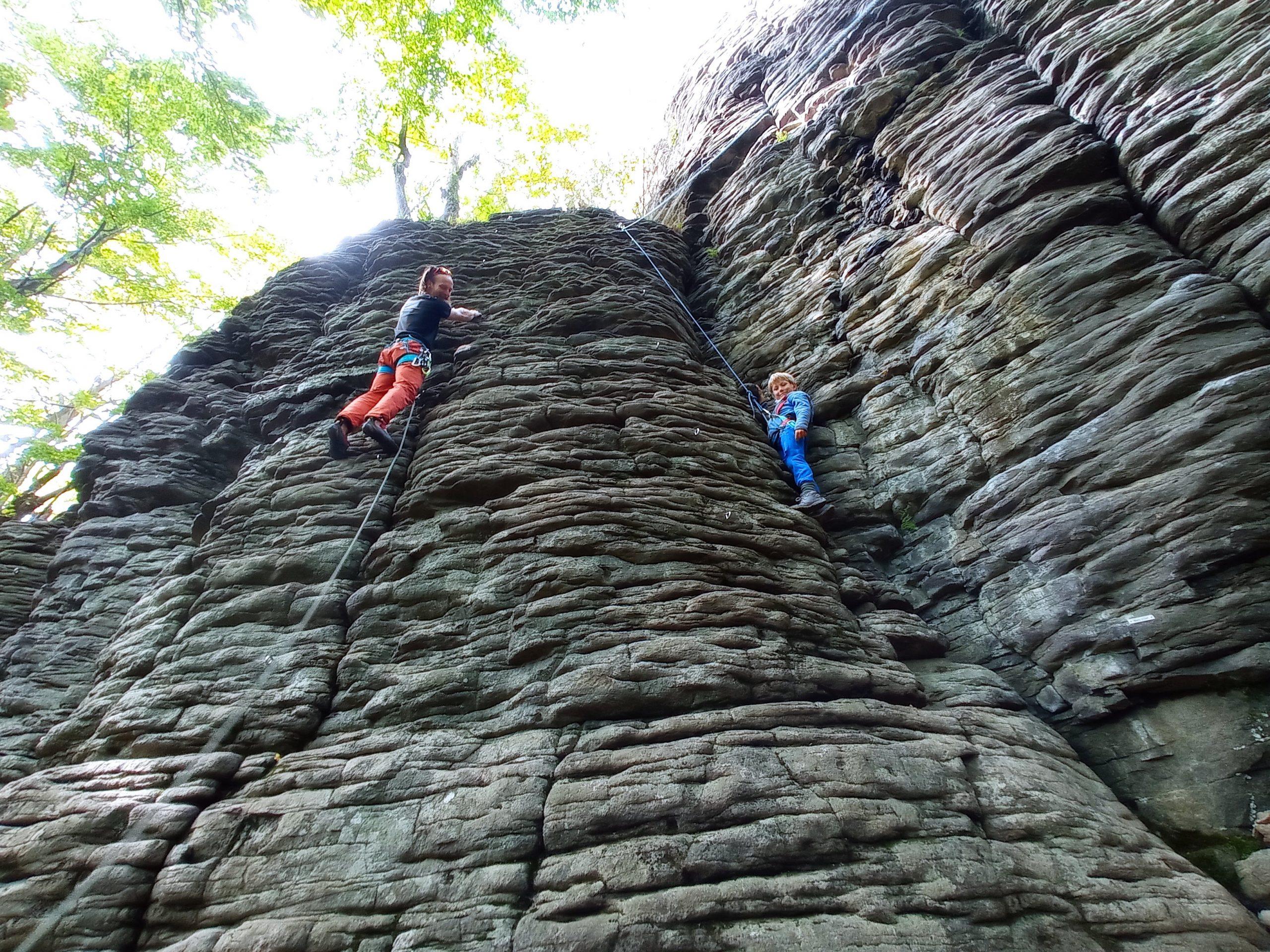 Lezenie na skale